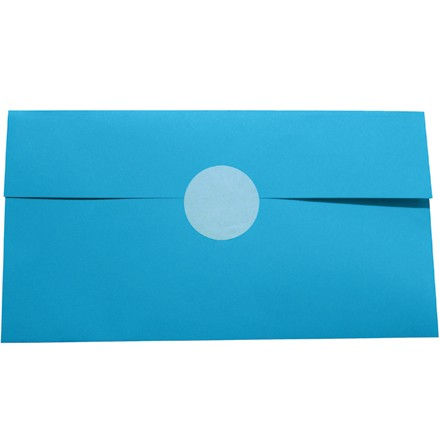 """1 1/2"""" White Circle Paper Mailing Labels"""