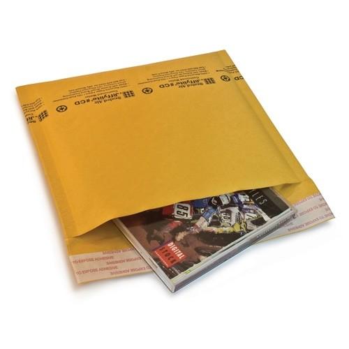 "7 1/4"" x 8"" (CD) Jiffylite® Kraft Self-Seal Bubble Mailers"