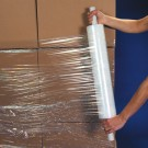 "30"" x  90 Gauge x 1000' Extended Core Cast Stretch Film"