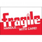 "2 x 3"" - ""Fragile - Handle With Care"" Labels"