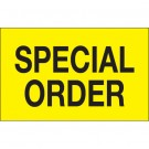 "1 1/4 x 2"" - ""Special Order"" (Fluorescent Yellow) Labels"