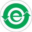 """1"""" Circle (China RoHS) Labels"""