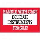 "3 x 5"" - ""Delicate Instruments - HWC"" Labels"