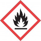 """1 x 1"""" Pictogram - Flame Labels"""