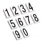 "3 1/2"" Vinyl Warehouse Number Kit Labels"