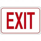 """""""EXIT"""" 7 x 10"""" Facility Sign"""