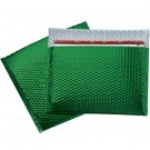 "13 3/4 x 11"" Green Glamour Bubble Mailers"