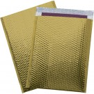 "16 x 17 1/2"" Gold Glamour Bubble Mailers"