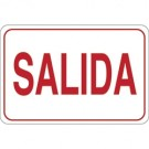 """SALIDA"" 7 x 10"" Facility Sign"