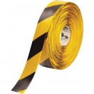 """2"""" x 100' Yellow/Black Mighty Line Deluxe Safety Tape"""