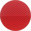 """3"""" Round Red 3M 989 Reflective Labels"""