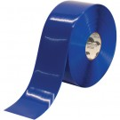 """4"""" x 100' Blue Mighty Line Deluxe Safety Tape"""