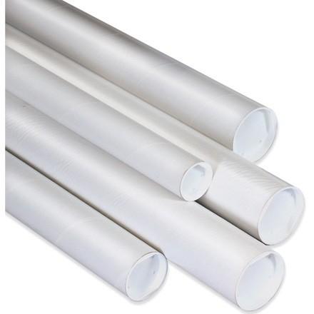 White Mailing Tubes
